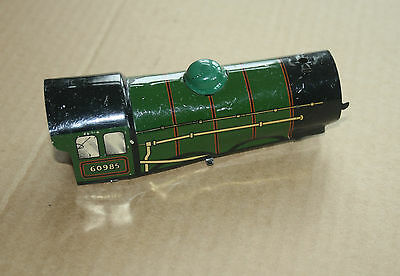 A beautiful  OLD TINPLATE TOY as a  DESK or BOOKCASE ORNAMENT Hornby 'O' gauge k 2