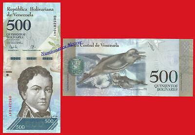 VENEZUELA FULL SET 500 1000 2000 5000 10000 20000 100000 Bolivares 2016-2017 UNC 2