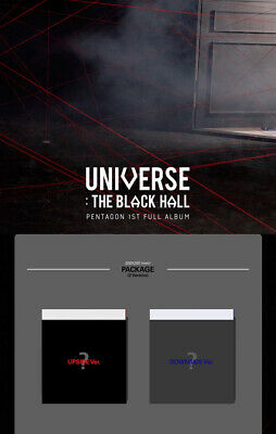 PENTAGON UNIVERSE:THE BLACK HALL 1st Album CD+POSTER+Book+Card+etc+PreOrder+GIFT 4