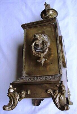 An Attractive 19Th Century, Japy Freres, Ormolu Mantel Clock. 2
