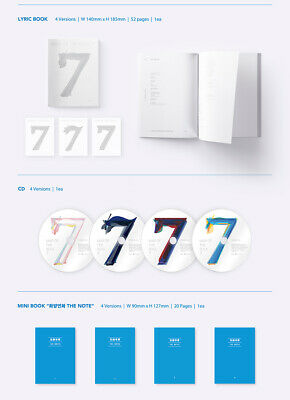 BTS [MAP Of THE SOUL:7] Album RANDOM CD+POSTER+Foto Buch+Lyric+Buch+2p Karte+etc 8