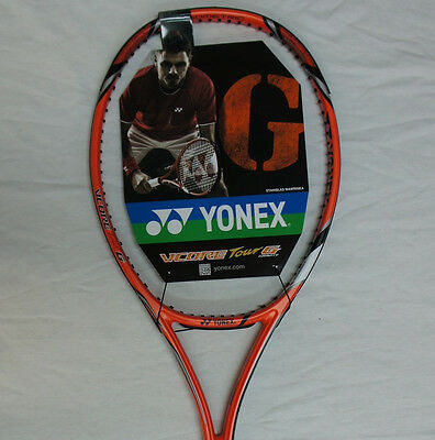 G3 Yonex Tennis Racquet Vcore Pro 97HG STRUNG More Speed//Spin//Bounce Height