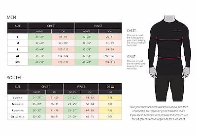 Mens Boys Body Armour Compression Baselayers Thermal Under Shirt Top Skins 5