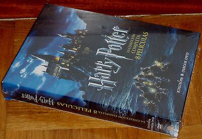 Harry Potter La Coleccion Completa 8 Dvd Precintado Nuevo Fantasia (Sin Abrir) 3