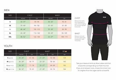 Men's Boy's TCA HyperFusion Compression Armour Base Layer Top Thermal Under Gear