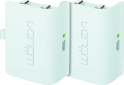 Venom Xbox One Rechargeable Battery Twin Pack - White - VS2860 2