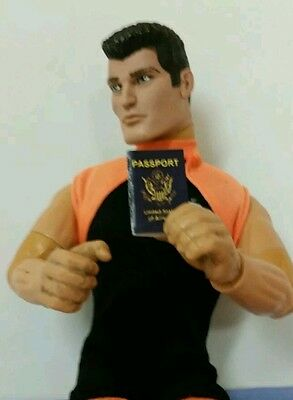 Miniature Israël passeport Gi Joe Action Figure playscale Jason Bourne secret