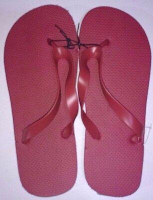 New Men's Unisex Flip Flops/Shower Shoes Blue, Orange, Black,Red,Lime Green,Grey 3