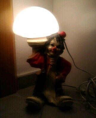 Lampada Tavolo Pagliaccio Clown Anni 70 Vintage Modernariato Funzionante Eur 24 00 Picclick It