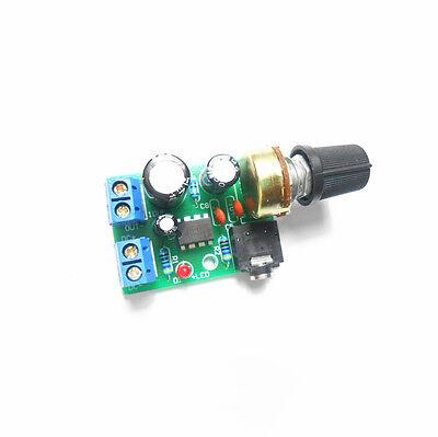 NEW LM386 Audio Power Amplifier Board DC 3~12V 5v AMP Module Adjustable volume