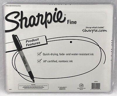 24 Bulk Pack Sharpie Pen Fine Tip Black Permanent Marker *Free AU Shipping!!*