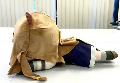 Sega Rising of the Shield Hero Anime Nesoberi Jumbo Plush Doll Raphtalia SG8623