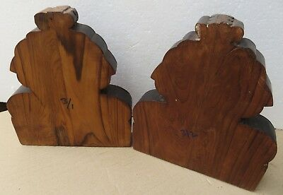 Antique Reclaim Carved Wood Corbel Corner Sconce Redefine Multi Use Wall Decor-3 9