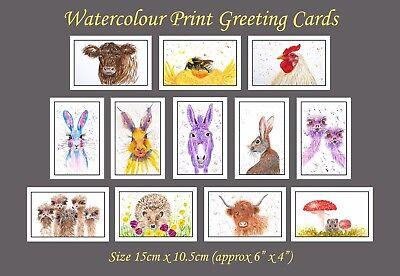 Greetings Card Birthday / Blank Notelet - Canal Narrow Boat Boating Holiday 4