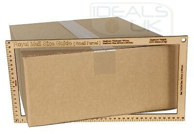 25 x NEW 450x350x160mm ROYAL MAIL MAX SIZE SMALL PARCEL CARDBOARD POSTAL BOXES 3