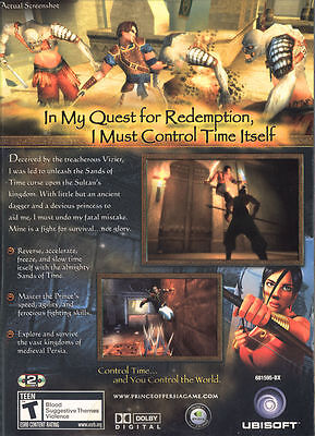 Prince Of Persia The Sands Of Time Pc Game 4 12 Picclick