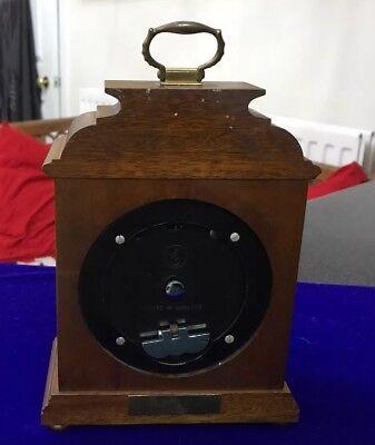 Vintage Garrard & Co Ltd London Elliot Mahogany 8 Day Oak Mantle Carriage Clock 3