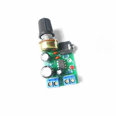 LM386 Audio Power Amplifier Board DC 3~12V 5v AMP Module Adjustable volume K87
