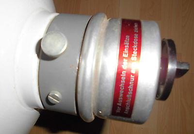 arzt tisch / wand lampe wärme alt top deko strahler thermolite super 60 / 70er 12