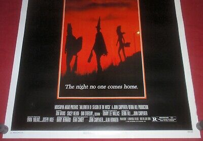 Halloween III: Season of the Witch 1982 27 x 41 Orig Movie Poster Tom Atkins NEW 3