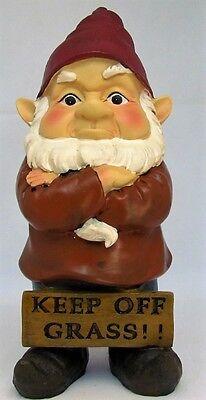 GNOME~ATTITUDE GARDEN GNOME~26 cm~4 ASSORTED