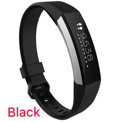 Replacement Band Fitbit Alta HR Silicone Wrist Watch Band Secure Buckle 9