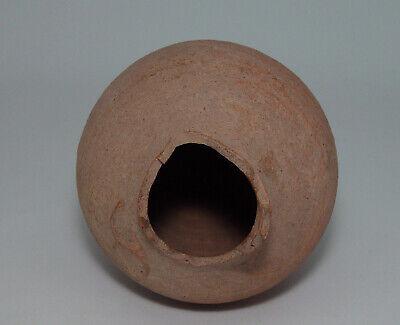 Ancient Greek Hellenistic Terracotta Amphora or Vase 4