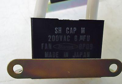 3 MOROR SH CAP N 250VAC 2.5 uFU FAN 9Z19 MADE IN JAPAN CH25 2