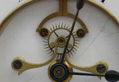 Huge 1869 Victorian Clock, 14-day Marti Movement, Visible Brocot Escapement 6