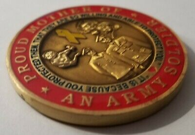 Proud Mother of an Army Soldier US Army Mom Challenge Coin