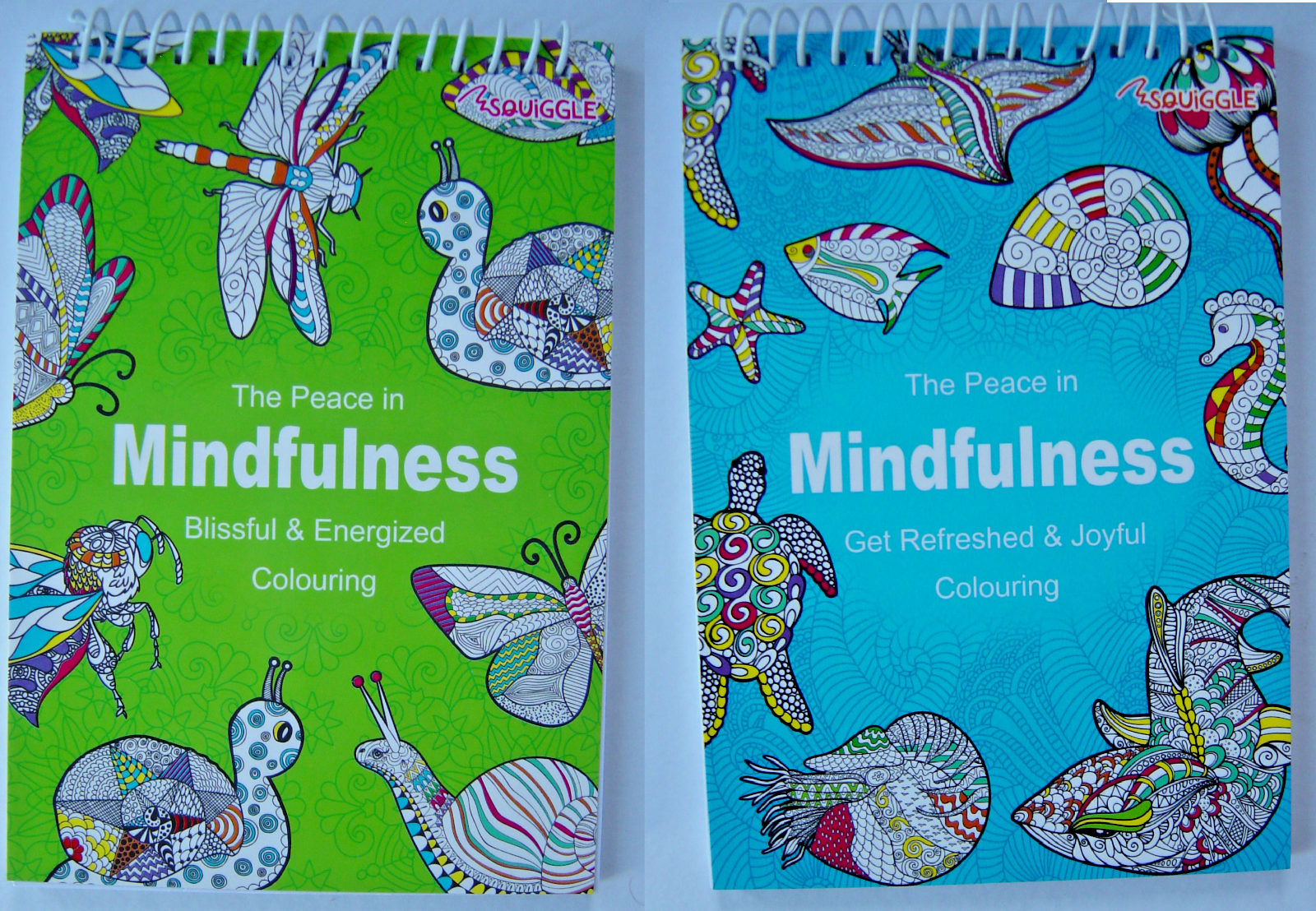 Adult Colouring Book Mind Relaxing stress relief therapy good quality, 14 books 6