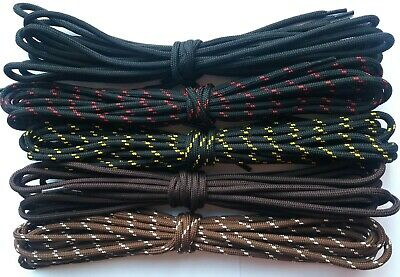 Hiking Boot Laces Walking Boots Laces Safety Shoes Round Strong Bootlaces 2