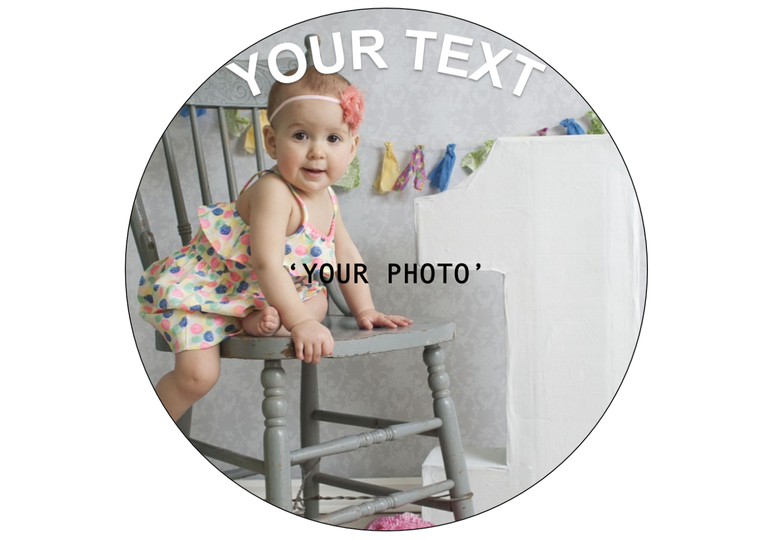 YOUR OWN EDIBLE PHOTO cake topper, personalised image, Quality ICING OR WAFER 8
