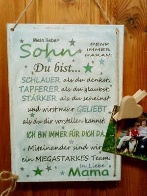 Shabby Style meine Hände Holzschild Geschenk Deko HandsArt Liebe Tochter