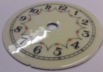 400 Day/anniversary/torsion Clock Pretty Enamel Dial Larger Size.