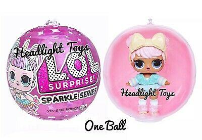 1 Authentic LOL Surprise SPARKLE SERIES Ball Big Sister Brother Dolls 2 3 4 5 6 2