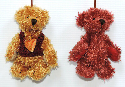 Miniature Teddy Bear Ornaments - 12 pc. Assorted Set 4