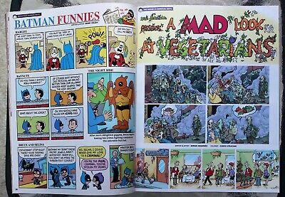 Mad Magazine; October, 2019; Tarantino Time Warp Issue; Last Newsstand Issue 5