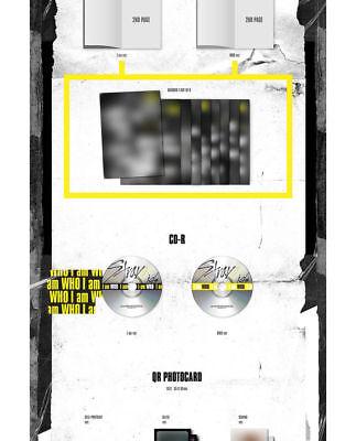 STRAY KIDS [I AM WHO] 2nd Mini Album RANDOM CD+PhotoBook+3p Card+Poster(On)+GIFT 6