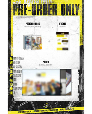STRAY KIDS [I AM WHO] 2nd Mini Album CD+POSTER+Book+3p Card+etc+Pre-Order+GIFT 9