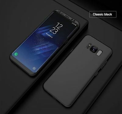 New ShockProof Hybrid 360 TPU Thin Case Cover For Samsung Galaxy S7 edge S8 S9 + 2