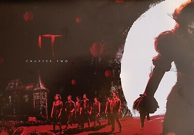 IT Chapter Two Posters - Odeon Cinemas Exclusive - A4 Size BOTH PARTS - CHEAPEST 2