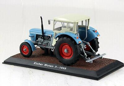 Modell Traktor 1:32 Eicher Wotan II 1968 hellblau//hellgrau Atlas 7517015