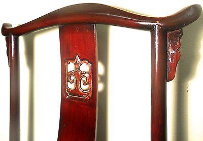 Antique Chinese High Back Chairs (5614) (Pair), Circa 1800-1849 7