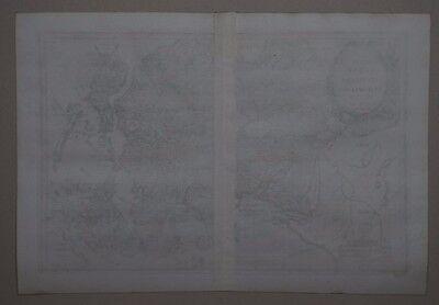 Totius Asiae Continens - Heinrich Scherer 1702 - Rare map of Asia - Asien