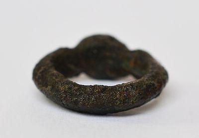 Original Mittelalterring Mittelalter Ring Bronze Bronzering