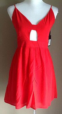 Bulk Lot x 7 NEW Dresses Red Chiffon Lace Up Back Sizes 6 - 12 Styla Label 2