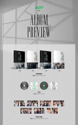 GOT7 CALL MY NAME 10th Mini Album CD+POSTER+Photo Book+2p Card+GIFT KPOP SEALED 5