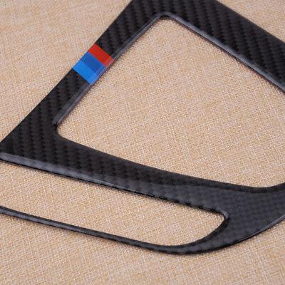 Kohlefaser Stil Schaltkulisse Rahmen Blende für BMW 3 4 Series F30 F31 F32 F33