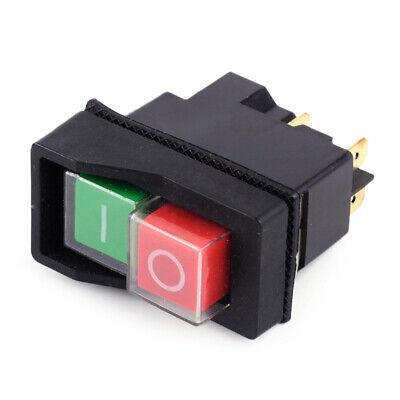 IP55 KJD17 KLD28 4Pin Start Stop On Off Volt Release Switch 250V Interrupteur x1 2